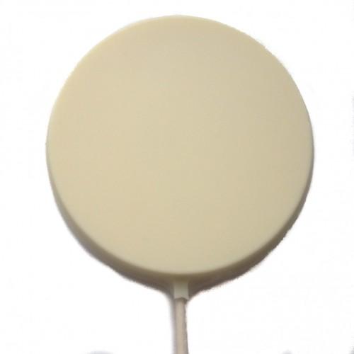 شکلات سفید گرد