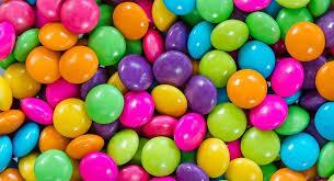 شکلات دراژه رنگی