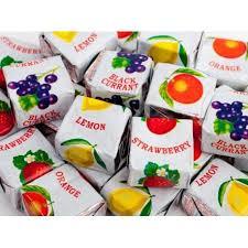 شکلات کاراملی میوه ای